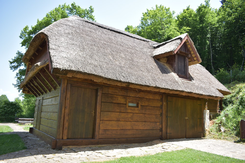 19th ct agricultural house in Smiljan